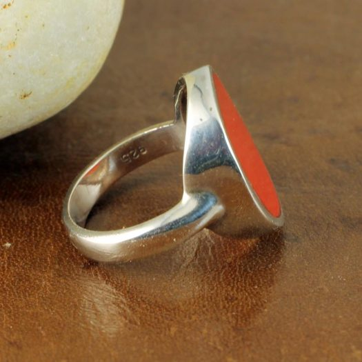 Red Coral Ring R-0104-g