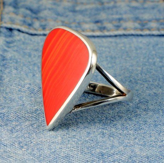 Red Jasper Ring R-0103-a