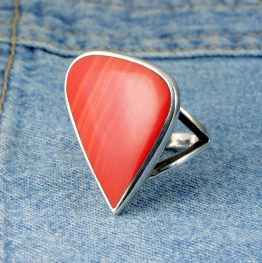 Red Jasper Ring R-0103-b