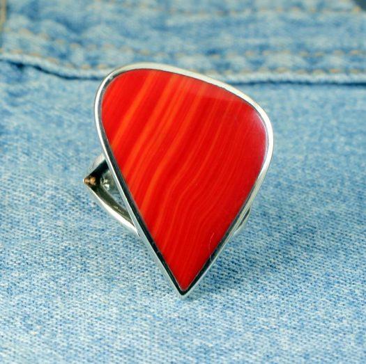 Red Jasper Ring R-0103-c