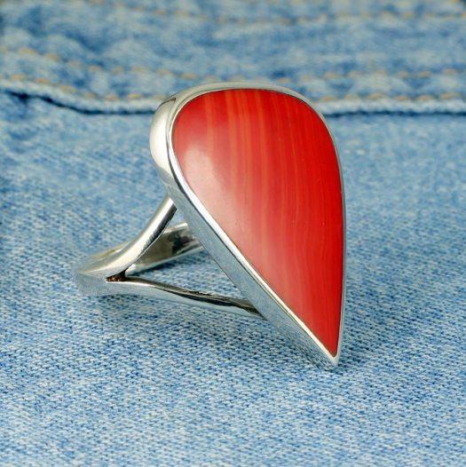 Red Jasper Ring R-0103-d