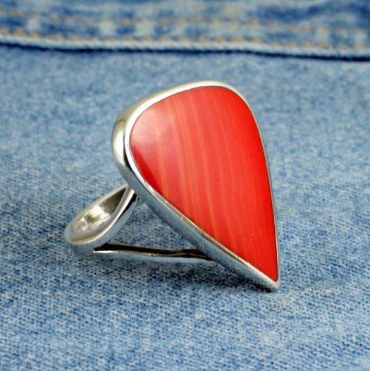 Red Jasper Ring R-0103-e