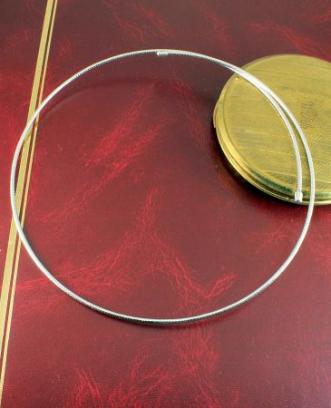Silver Open Neck-Ring N-0187-l