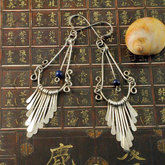 Silver Wirework Chandeliers E-0151-f