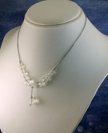 Swarovski Crystals Vintage Necklace N-0204-l