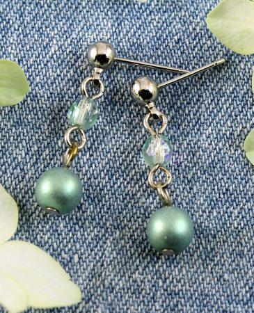 Mint Pearl Drop - E-0217-a