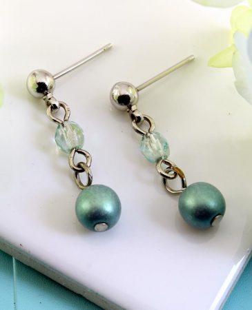 Mint Pearl Drop - E-0217-b