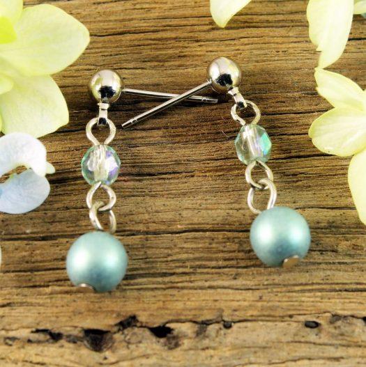 Mint Pearl Drop - E-0217-c