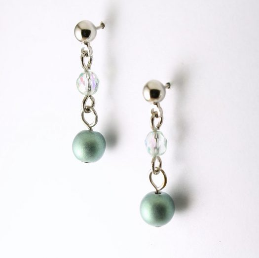 Mint Pearl Drop - E-0217-d