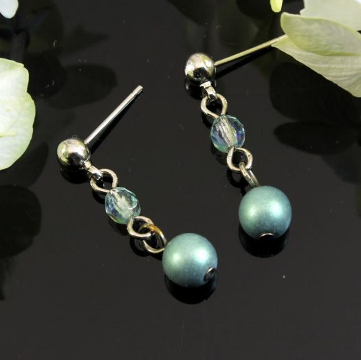 Mint Pearl Drop - E-0217-e