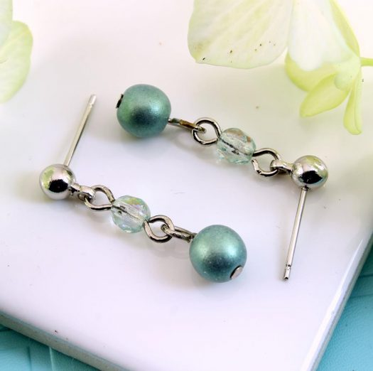 Mint Pearl Drop - E-0217-f