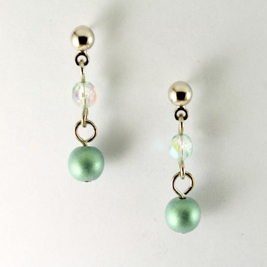 Mint Pearl Drop - E-0217-g