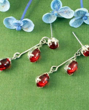 Red Flower Bud Drops E-0234-d