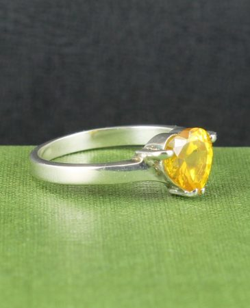 Citrine Heart Ring R-0218-a (Copy)