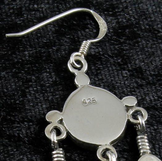 Moonstone Tribal Earrings E-0105-e