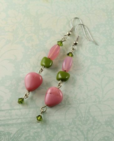 Adventurine_Pink Earrings_E-0120-a (Copy)