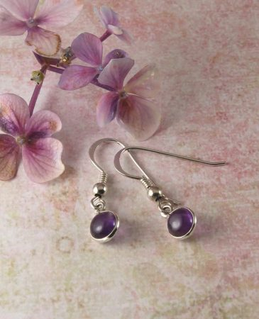 Amethyst_Small_Round_Earrings_E-0160-a (Copy)