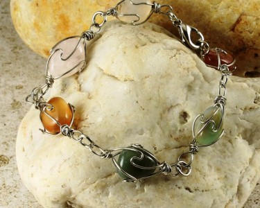 Wire-wrapped_Agate_Bracelet- B-0152-e