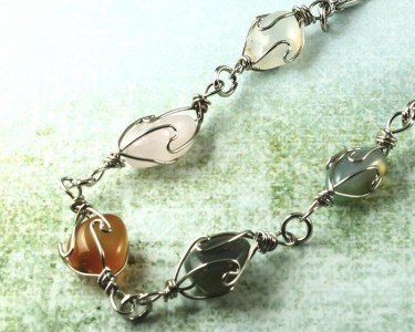 Wire-wrapped_Agate_Bracelet- B-0152-f