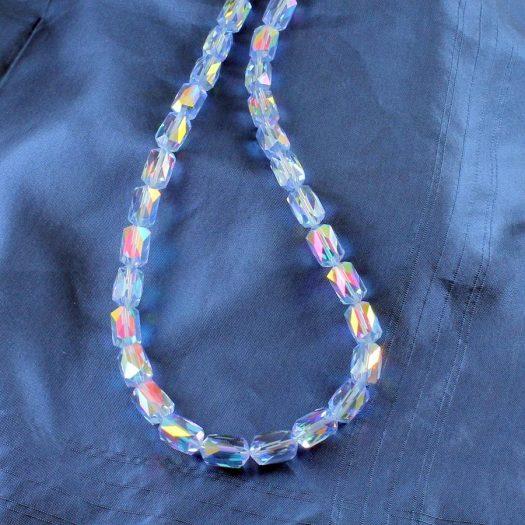 Vintage Blue Swarovski Crystals N-0229-a