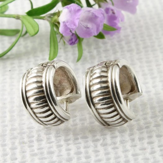 Vintage-style_Fluted_Silver_Barrel_Hoops_E-0216-b