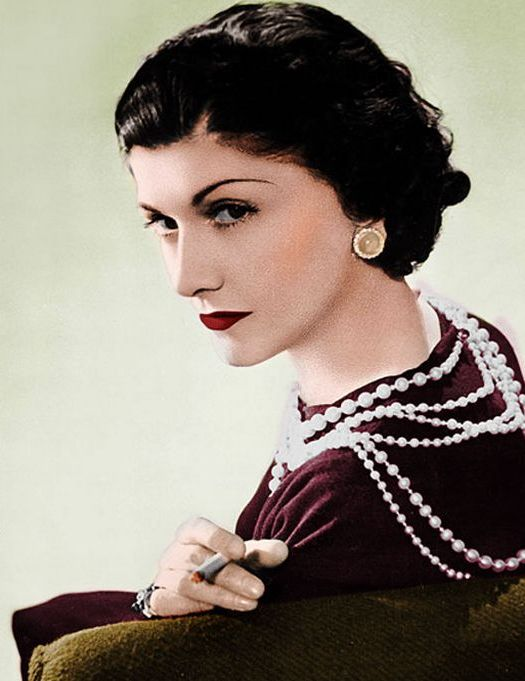 Coco Chanel Pearl necklace