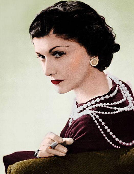 Coco Chanel Pearl necklace