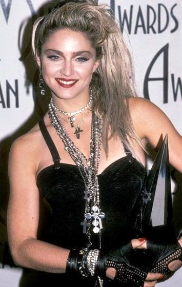 Madonna eclectic pearl necklace