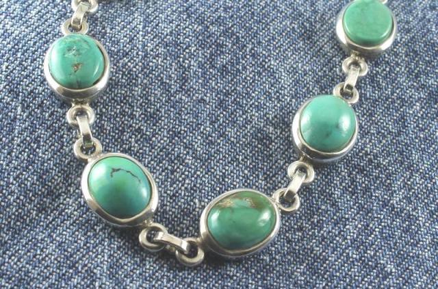 Turquoise Ovals Bracelet