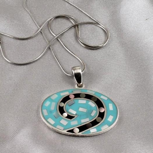 Vintage Turquoise Pendant
