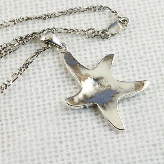 Starfish Mosaic Pendant N-0196-j