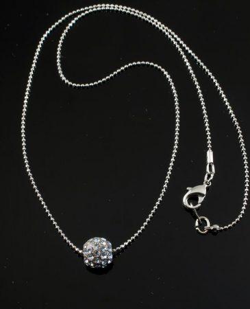 Mirror Ball Silver Rhinestone N-0210-k