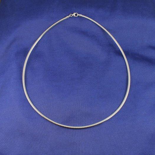 Sterling Silver Neck Ring N-0186-a
