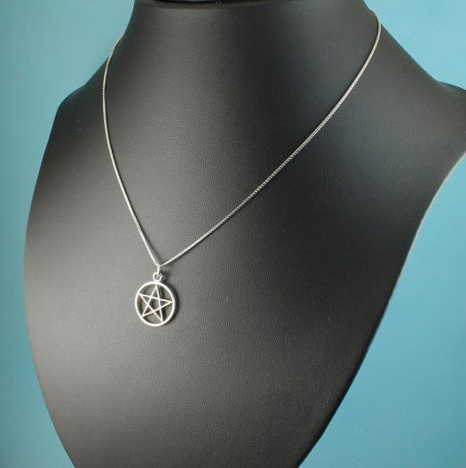Pentacle Silver Pendant N-0235-i