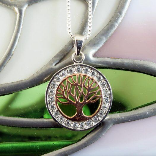 Tree of Life Pendant N-0188-e