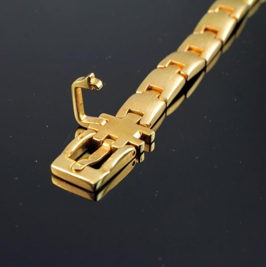 Gold Buckle Bracelet B-0123-g