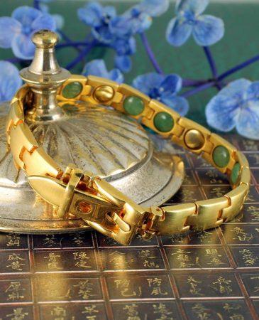 Gold Buckle Bracelet B-0123-i